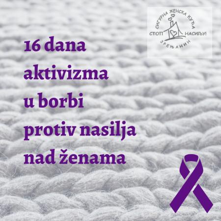 16 дана активизма у борби против насиља над женама – 28.11.2019.